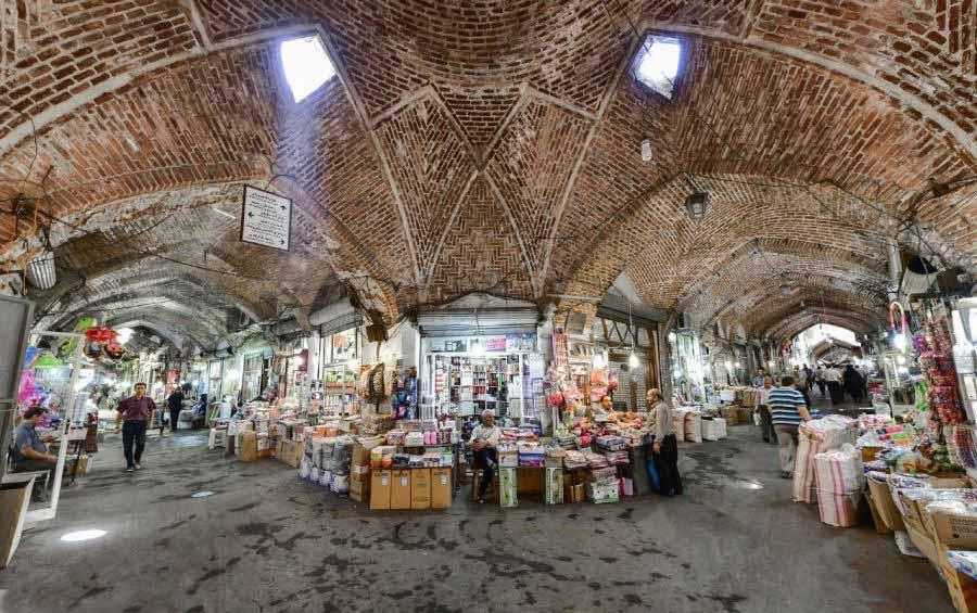 خطر نقاط حادثه خیز برای بازار تاریخی تبریز