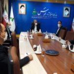 دیدار مدیر مخابرات منطقه آذربایجان شرقی با فرماندار جلفا